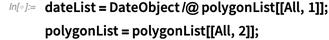 dateList = DateObject /@ polygonList