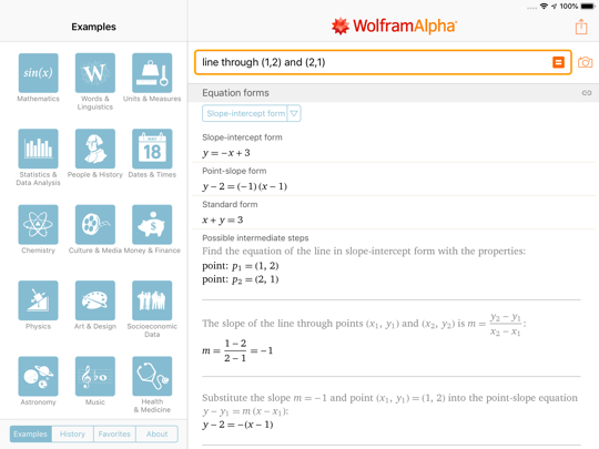 Step-by-step solution in previous version of Wolfram|Alpha, continued