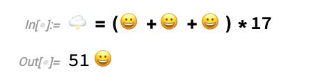 Unicode notation