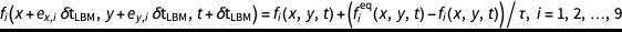 Reduced equation