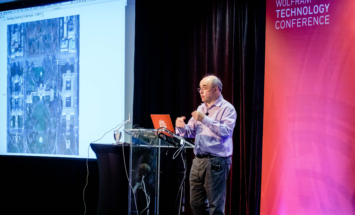Stephen Wolfram's opening keynote at the Wolfram Technology Conference