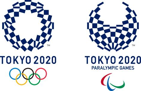 Tokyo 2020 Olympic and Paralympic emblems