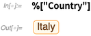 "%[""Country""]"