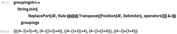 groupingstrs