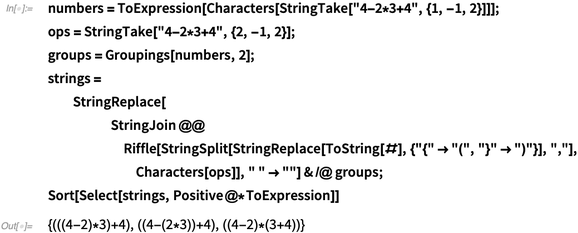 numbers = ToExpression