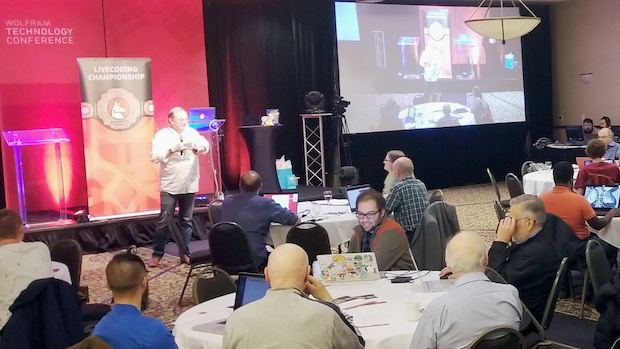 The 2019 Wolfram Livecoding Championship