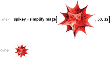 spikey = simplifyImage