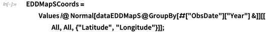 EDDMapSCoords = Values /@ Normal