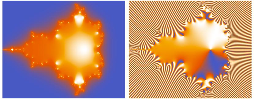 Mandelbrot Set on a Neural Network