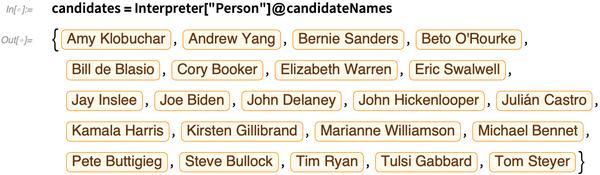 candidates = Interpreter