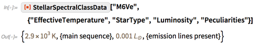 """ResourceFunction[""""StellarSpectralClassData""""][""""M6Ve"""","""
