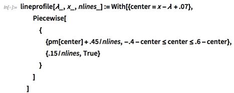 lineprofile