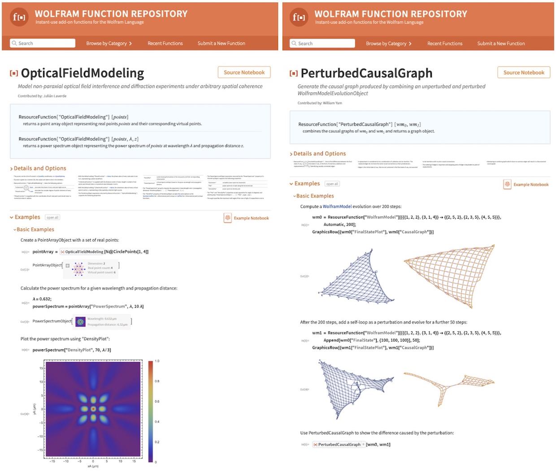 Wolfram Function Repository