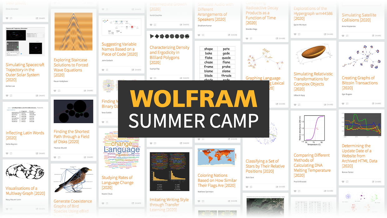 The Wolfram High School Summer Camp Went Virtual, and It Was an Experience!