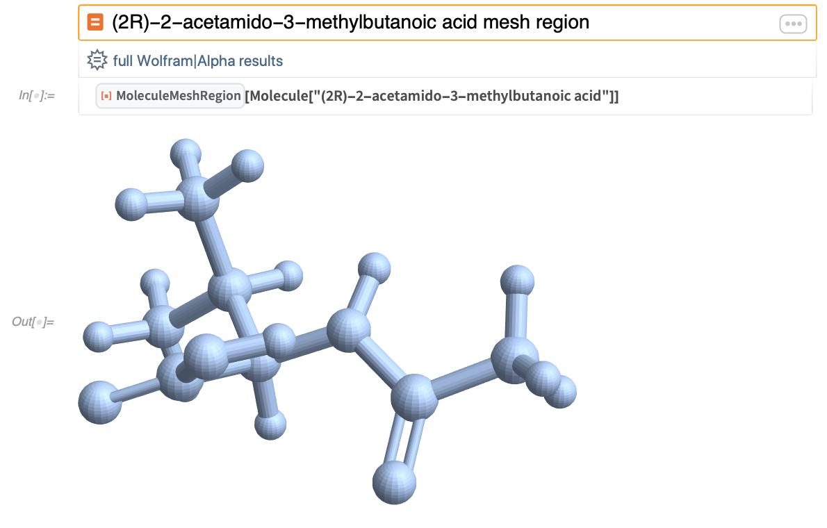 (2R)-2-acetamido-3-methylbutanoic acid mesh region