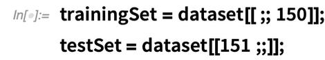 trainingSet = dataset