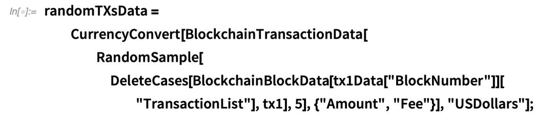 randomTXsData = CurrencyConvert