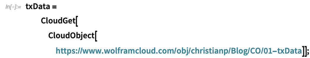 txData = CloudGet