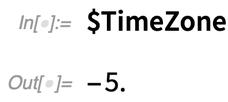 $TimeZone