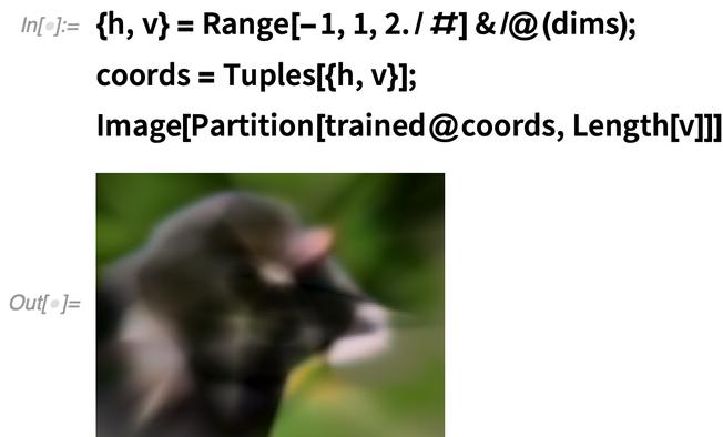 {h, v} = Range