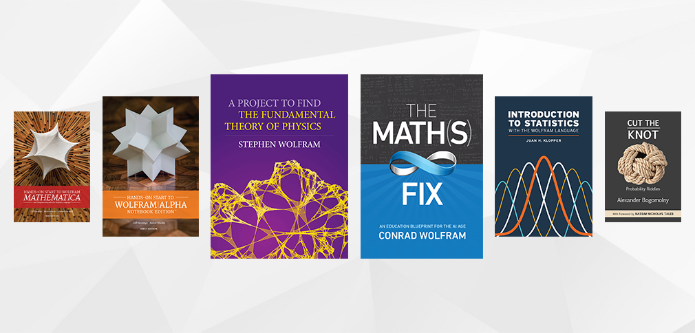 Wolfram Media Publishing: Reflecting on a Big Year and Unwrapping Plans for the Next