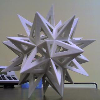 3D Spikey on my desk
