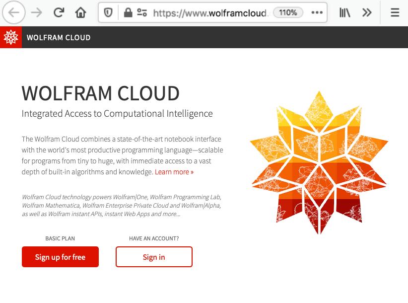 Wolfram Cloud