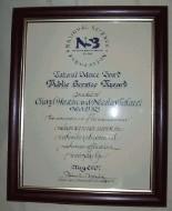 National Science Board certificate