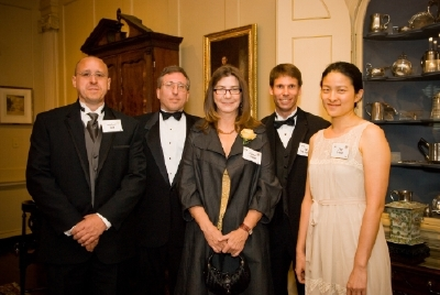 Michael Trott, Ed Pegg, Jr., Cheryl Heuton, Eric Weisstein, and Amy Young at NSB award
