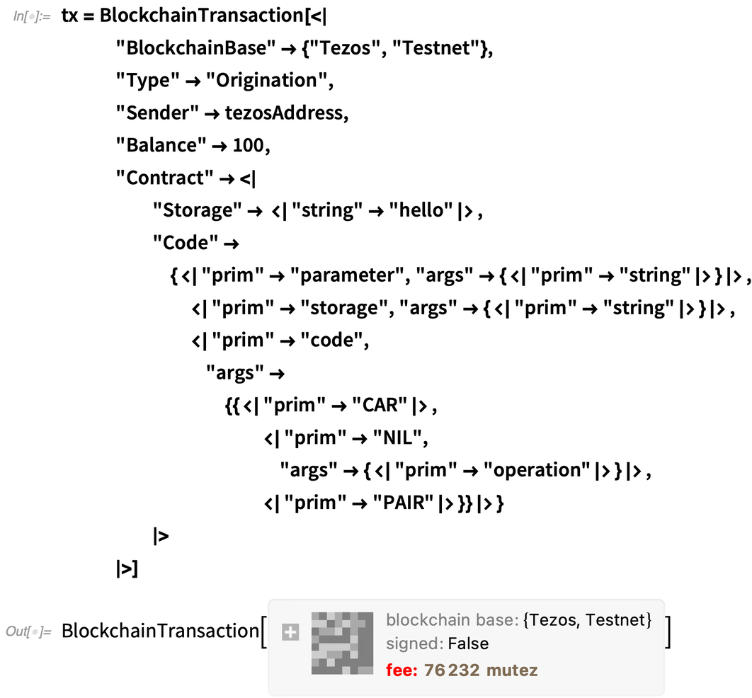 tx = BlockchainTransaction
