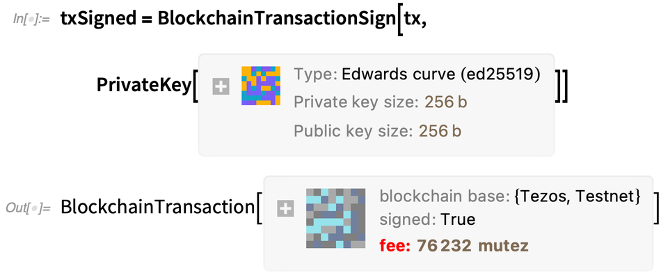 txSigned = BlockchainTransactionSign