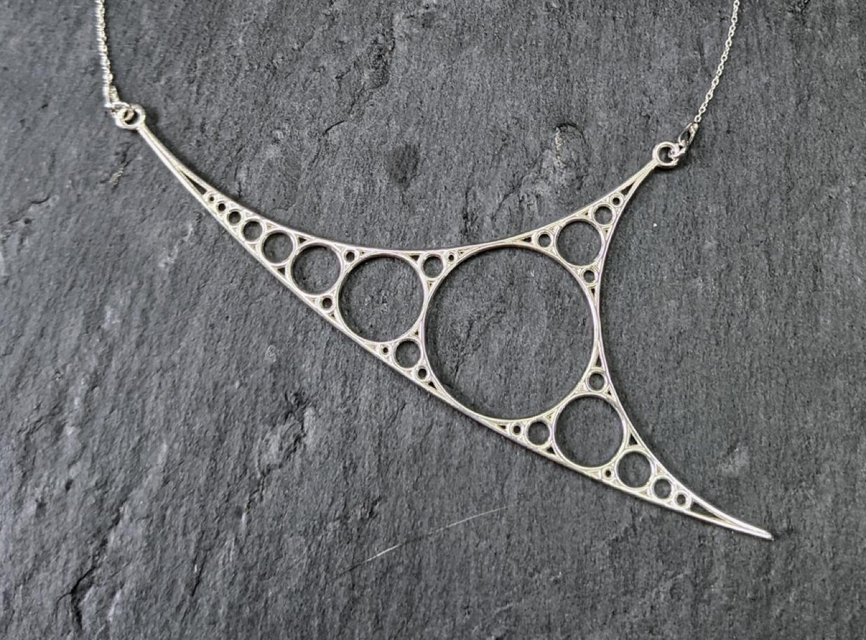 Apollonian necklace