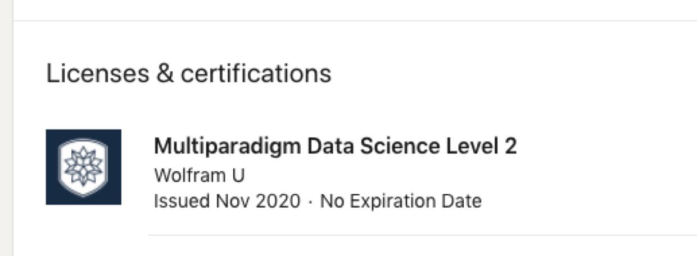 Wolfram U LinkedIn page