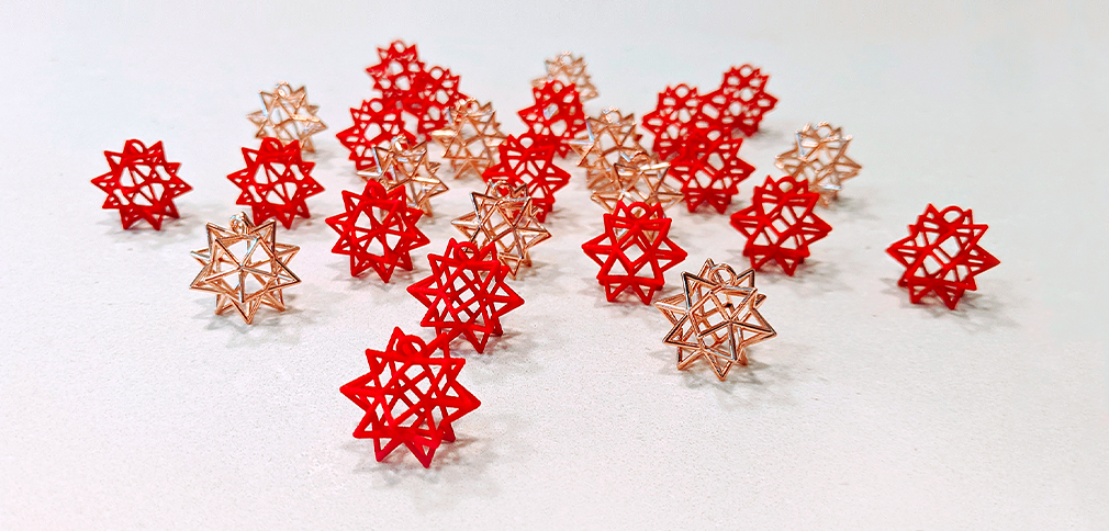 3D-Printed Jewelry Made with the Wolfram Language Showcases the Beauty of Mathematics