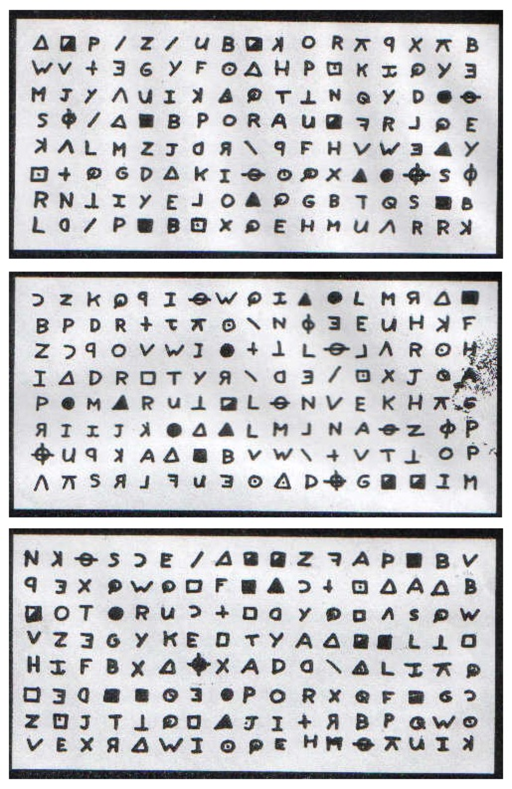 The Zodiac Killer's 408-character cipher