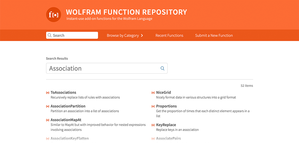 Enhanced Association Tools Now Available in the Wolfram Function Repository