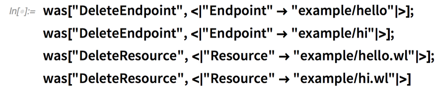 "was[""DeleteEndpoint"", <
