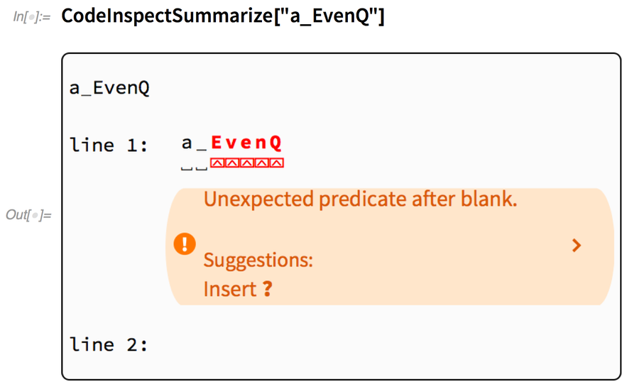 "CodeInspectSummarize[""a_EvenQ""]"