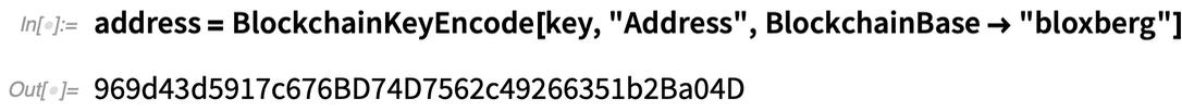 address =   BlockchainKeyEncode