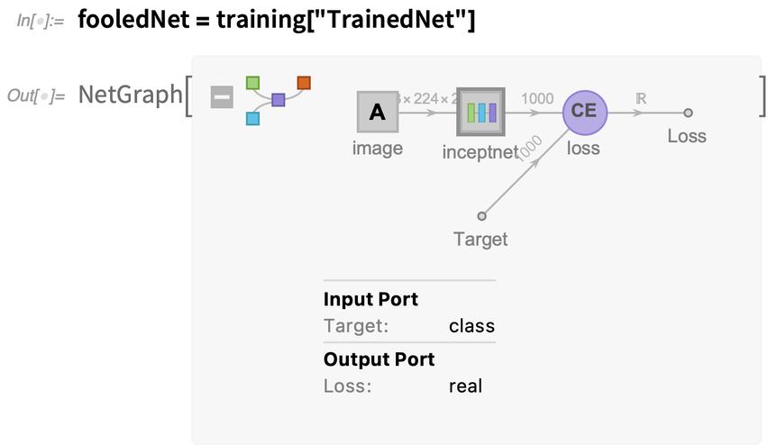 fooledNet = training