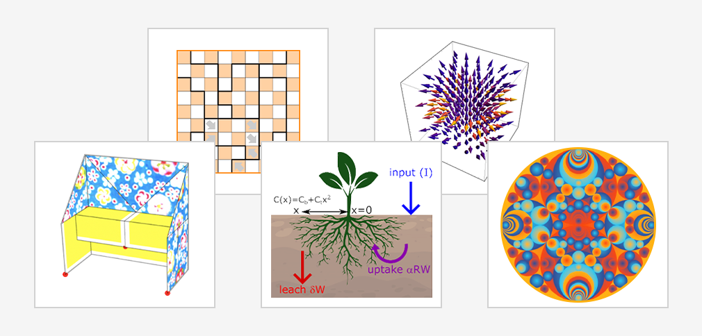 From Plant Roots to Deep Space: Wolfram Community Computational Explorations
