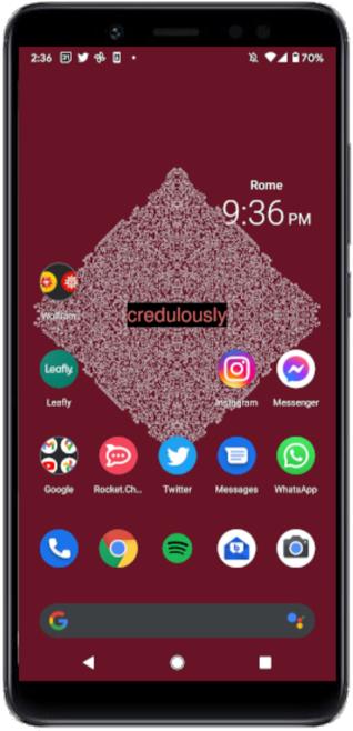 NFT phone background