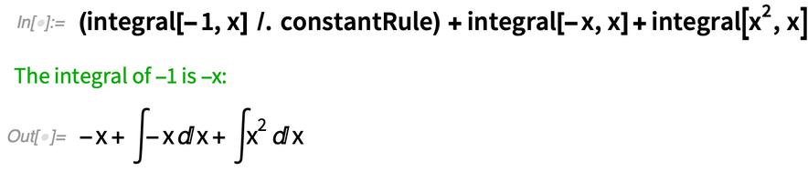(integral