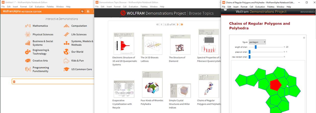 Interactive Demonstrations