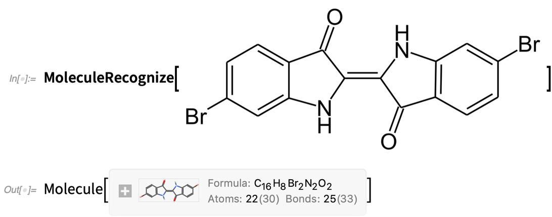 MoleculeRecognize