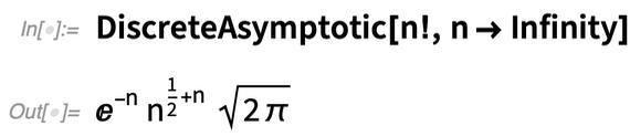 DiscreteAsymptotic