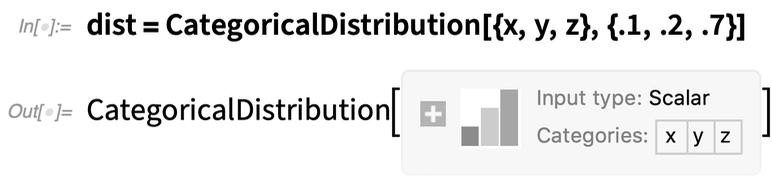 dist = CategoricalDistribution