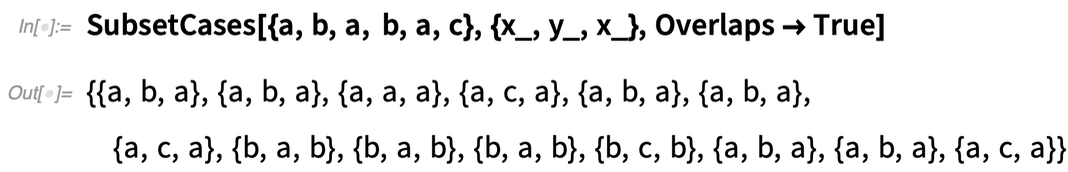 SubsetCases