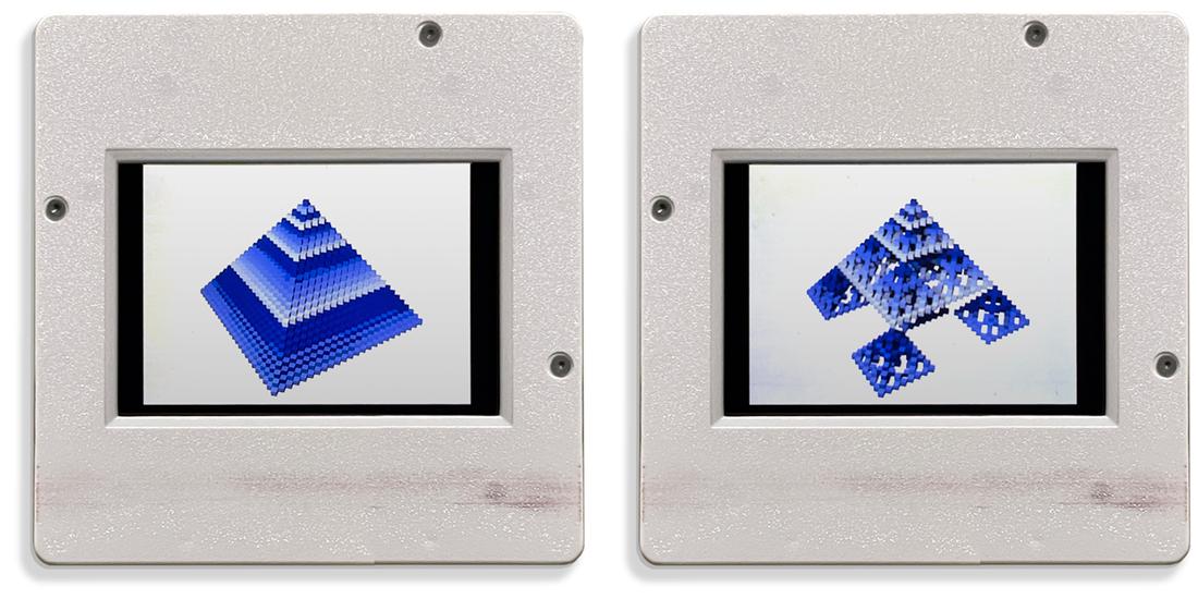 Slides of cellular automata