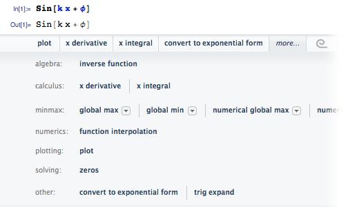 Predictive Interface example